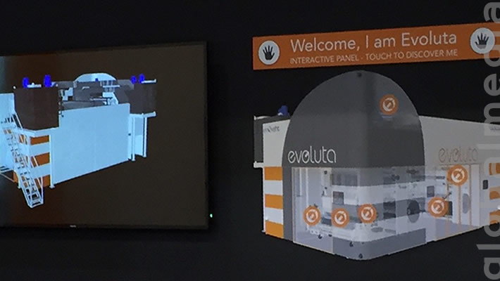 Interactive Touch Panel - DRUPA